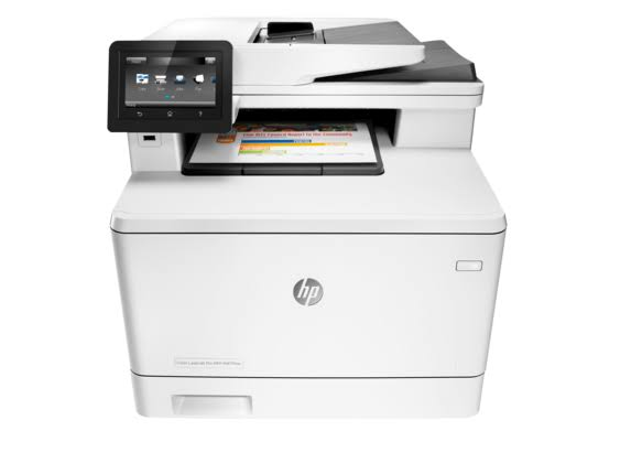 HP Laserjet Pro M477fdw Wireless All-in-One Color Printer, (CF379A)